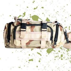 MULTI-PURPOSE ARMY MILITARY CAMO FANNY WAIST BAG