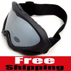 UV400 PROTECTION POLYCARBONATE PILOT MOTORCYCLE JET SKI SNOWBOARDING PADDED GOGGLES