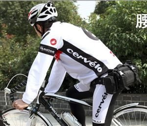 MULTIL-PURPOSE CYCLING CAMERA FANNY BAG WAIST PACK - BLACK