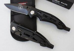 TRANSFORMER Multifunction Folding Knife w/4 Screw Bits