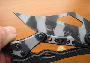 ROBOT TRANSFORMERS CAMO MECHANICAL TACTICAL POCKET FOLDING KNIFE