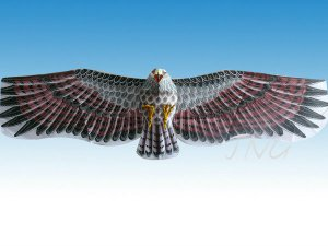 "Brand New 3D 59""Huge Japanese Eagle Kite Outdoor Fun Flying Toy Exquisite Chinese Handicraft"