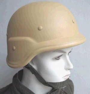 SWAT SHOOTING SKIRMISH AIRSOFT PAINTBALL KHAKI M88 HELMET