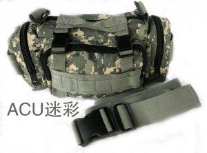 MULTI-FUNCTION ARMY MILITARY CAMO FANNY WAIST BAG - DIGITAL CAMO