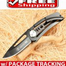 BLACK HERCULES POCKET FOLDING KNIFE CAMPING FISHING OUTDOOR GEAR TOOL BEST BUY
