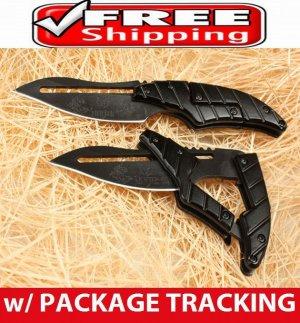 NEW ARRIVAL BLACK TRANSFORMERS Folding Pocket Knife Outdoor Hunting