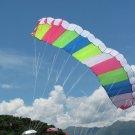 3M MULTI COLOR SKYWALKER STUNT PARACHUTE PARAFOIL POWER SPORT KITE FLYING TOY