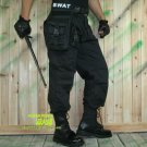 SWAT POLICE OUTDOOR LEG DROP UTILITY BAG THIGH PACK HUNTING AIRSOFT