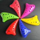 TNG 12 HOLE ALTO C SUBMARINE OCARINA FLUTE FUN TO PLAY - MULTI COLOR CHOICE