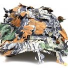 New Hidden Camo Leaves Deciduous Cap Hat Hunting Fishing Airsoft Paintball