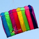 "New 8 HOLE ""GALAXY"" SINGLE LINE PARACHUTE PARAFOIL FOIL KITE OUTDOOR BEACH FUN"