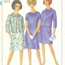 Simplicity #6978 Misses 1960s Princess Line Dress & Jacket Bust 36 Factory Folded Pattern