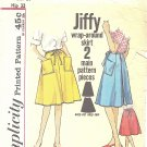Simplicity #4763 Ladies 1960s Jiffy Wrap Around 4 Gore Skirt Waist 24 Pattern