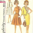 Simplicity #4909 Junior 1960s Blouse / Jacket / Slim or Pleated Skirt Bust 31 1/2 Pattern