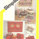 ReTrO 1980s String Quilt Sewing Accessories & Wall Hangings 9 Projects FF Pattern