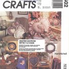 McCalls Crafts #3502 Heartfelt Pillows / Wreath / Wall Hanging / Placemats + FactFold Pattern