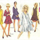 *Simplicity #8287 Junior Petite 1960s Low Waist Jumper Dress w/ Flip Skirt - 4 Views Bust 35 Pattern