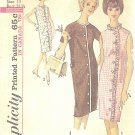 Simplicity #5501 Junior 1960s Button Front Step-Into Dress in 3 Versions Bust 31 1/2 Pattern