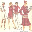 "VOGUE #8591 Misses 1970s ""All Seasons"" Dress / Blouse / Pants / Skirt Size 8 FF Pattern"
