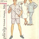 Simplicity #5039 Mens 1950s Nightshirt or Pajamas in Two Lengths Chest 42 - 44 Pattern