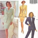 Butterick #5645 Misses Pleat Front Jacket / Top / Slim Skirt / Pants Sz 18-20-22 FF Pattern
