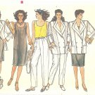 "VOGUE #8922 Misses 1980s ""Mix & Match"" Jacket / Top / Pants / Shorts / Dress Bust 32 1/2 FF Pattern"