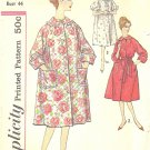 Simplicity #3216 Womens 1950s Slenderette Raglan Slv Robe in 3 Versions Bust 44 Pattern