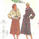 Butterick #6248 Misses 1970s Blouson Dolman Slv Dress or Blouse and Skirt Size 8 FF Pattern