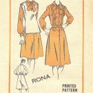 1970s Good Housekeeping #M461 Rona Design Pin/Tuck Bodice Dress-Vest B 38 Pattern