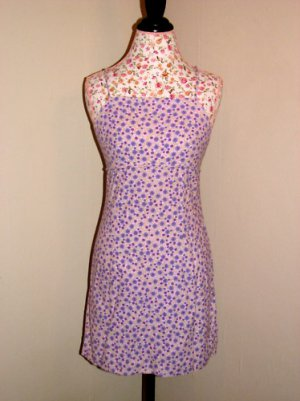 Pre-owned Aqua Blues Purple Spaghetti Strap Dress 9