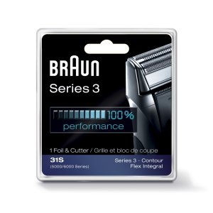 Braun Series 3 Combi 31S Foil And Cutter Replacement Pack