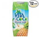 Vita Coco Coconut Water with Pineapple - 11.1 Ounce Containers (Pack of 12)