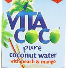 Vita Coco Coconut Water with Peach & Mango - 11.1 Ounce Containers (Pack of 12)