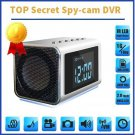 TOP Secret Spy Camera Mini Clock Radio Hidden/Covert DVR 32GB SD Audio/video