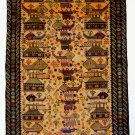 war rug tradition of Afghanistan No-4