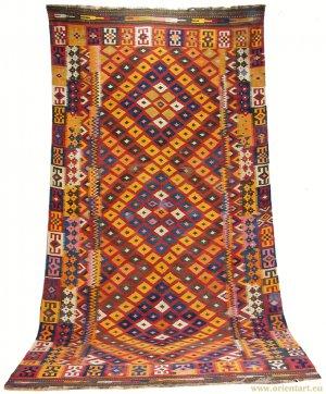 antique Afghan Kilim � No. mai-1