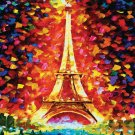 La Tour Eiffel--The  Eiffel Tower--500 Large Piece Wooden Jigsaw Puzzle