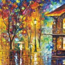 Rainy night----1000 Large Piece Wooden Jigsaw Puzzle