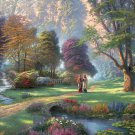 Walking in the forest----1000 Large Piece Wooden Jigsaw Puzzle