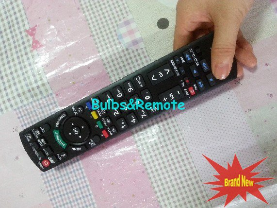 FOR PANASONIC PT-50PHD3U 50PHD5UY 50PHW3U 50PHW5UZ LCD TV REMOTE CONTROL