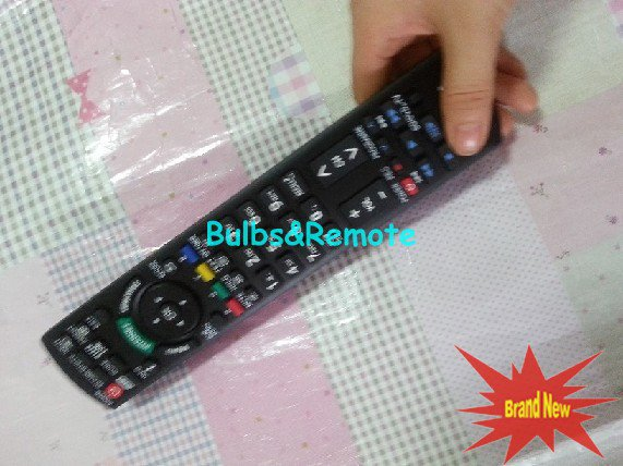 Remote Control FOR Panasonic TC-47LE54 TC-55LE54 N2QAYB000705 N2QAYB000706 3D TV