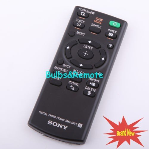 For SONY RMT-DPF5 DPF-D810 DPF-D710 DPF-D820 DPF-D830 Digital Picture Frame Remote Control