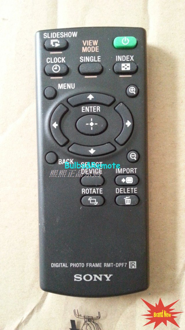 For SONY RMT-DPF7 DPF-A710 DPF-A73 DPF-E73 Digital Photo Frame Remote Control