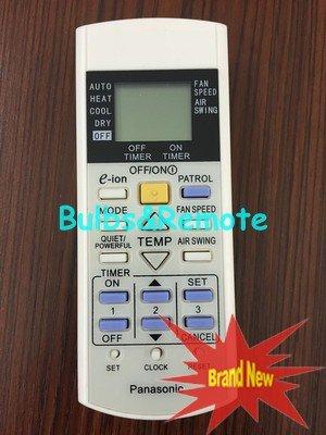 For Panasonic A75C2998 A75C3058 A75C3060 A75C3155 A75C3159 A75C3184 Air Conditioner Remote Control
