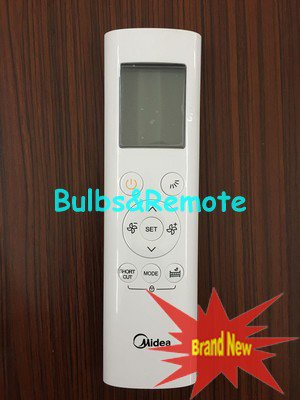 For Midea RG58B/BGE AC Air Conditioner Remote Control