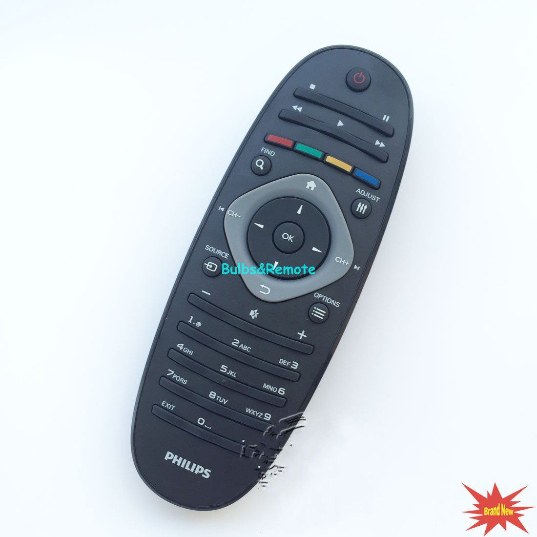 For Philips RC2813801/01 40PFL4606D LCD LED TV Remote Control