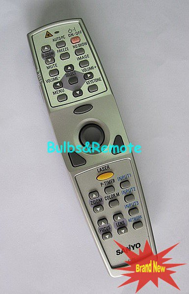For SANYO PLC-XP55 PLC-XT15A PLC-XU36 Projector Remote Control
