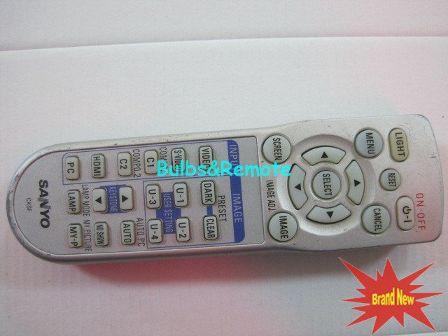 Remote Control For Sanyo CXSF PLV-Z3 PLVZ3 LCD Projector