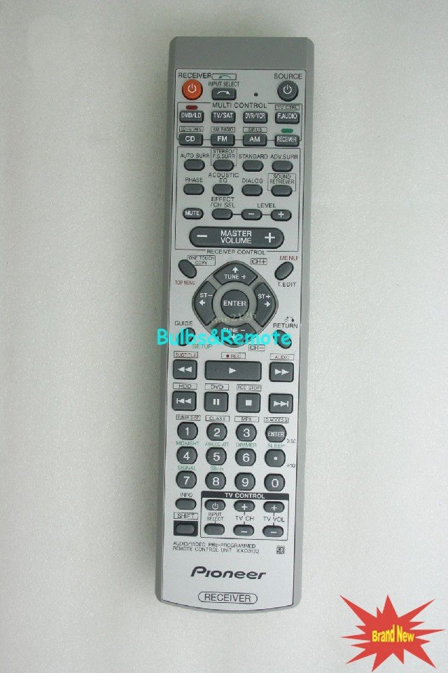 For Pioneer XXD3132 VSX-817 XXD3154 VSX-817-K VSX-817-S Audio/Video Receiver Remote Control