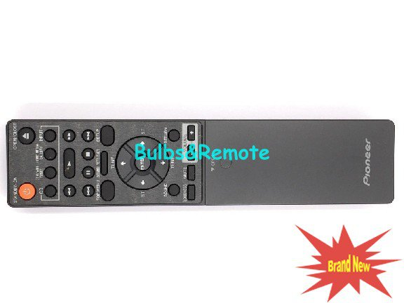 Replacement For Pioneer AXD7509 AV Receiver Remote Control